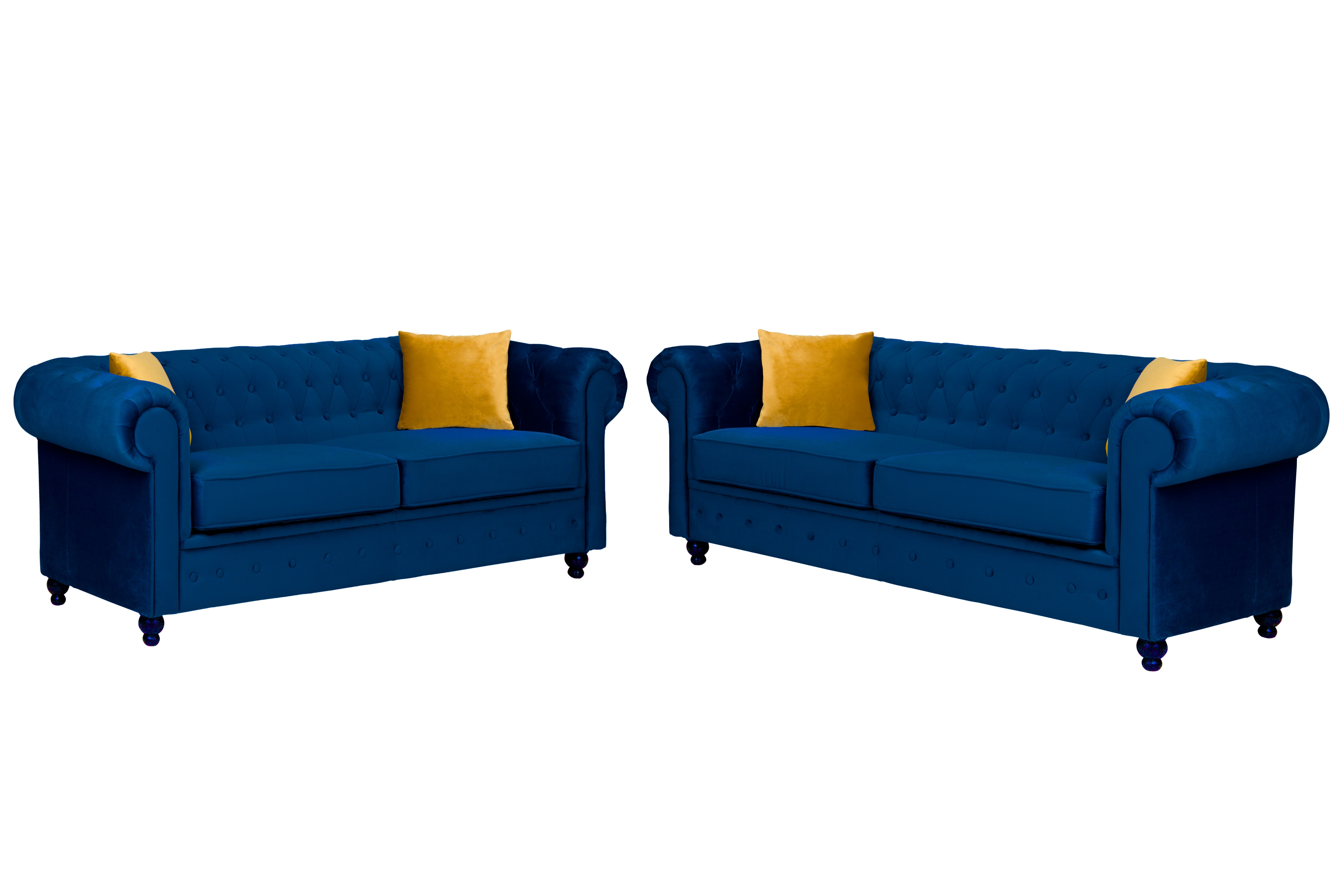 Newport 3+2 Seater Sofa Marine Plush