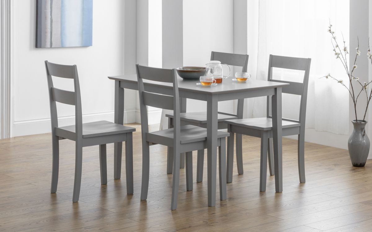 Kobe Dining Chair - Lunar Grey Lacquer
