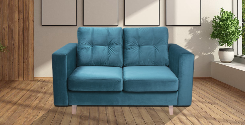 Coco 2 Seater Sofa Ocean Plush