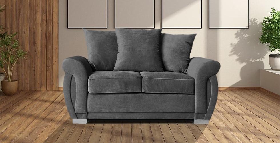 Neveda 2 Seater Sofa Graphite