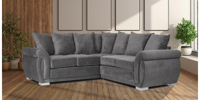 Neveda 2CR2 Corner Sofa Graphite