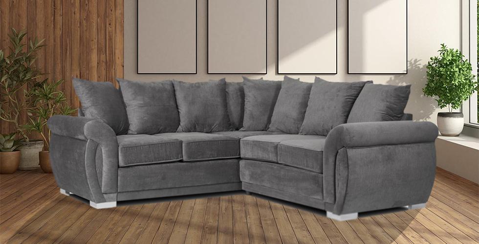Neveda 2CR2 Corner Sofa Graphite