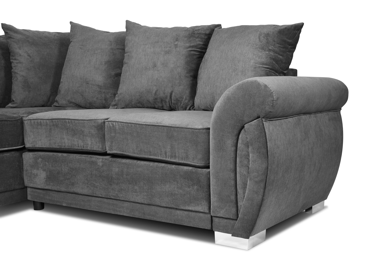Neveda 3 Seater Sofa Graphite