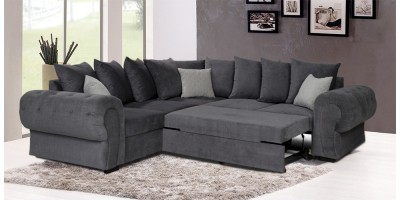 Knightbridge Scatter Corner Sofa Bed Graphite