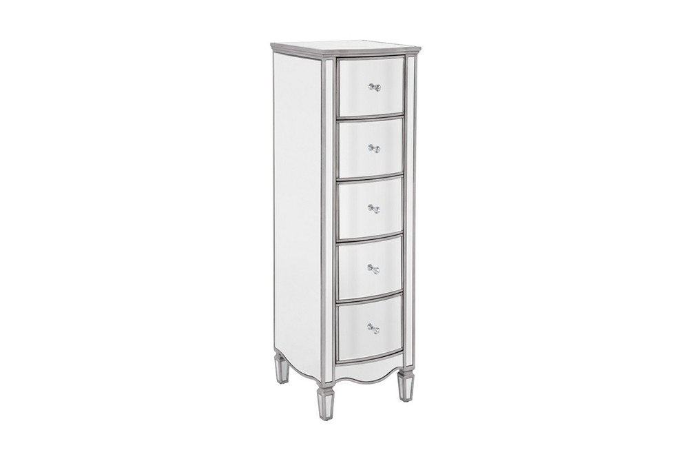 Elysee 5 Drawer Narrow Chest
