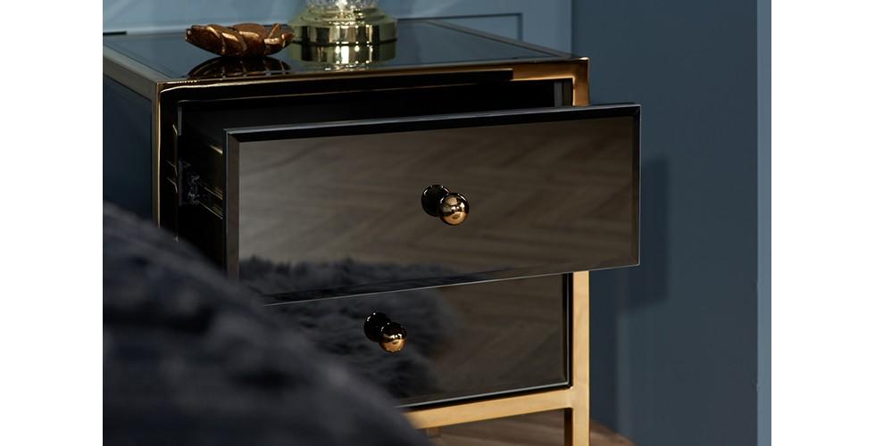 Fenwick 2 Drawer Bedside