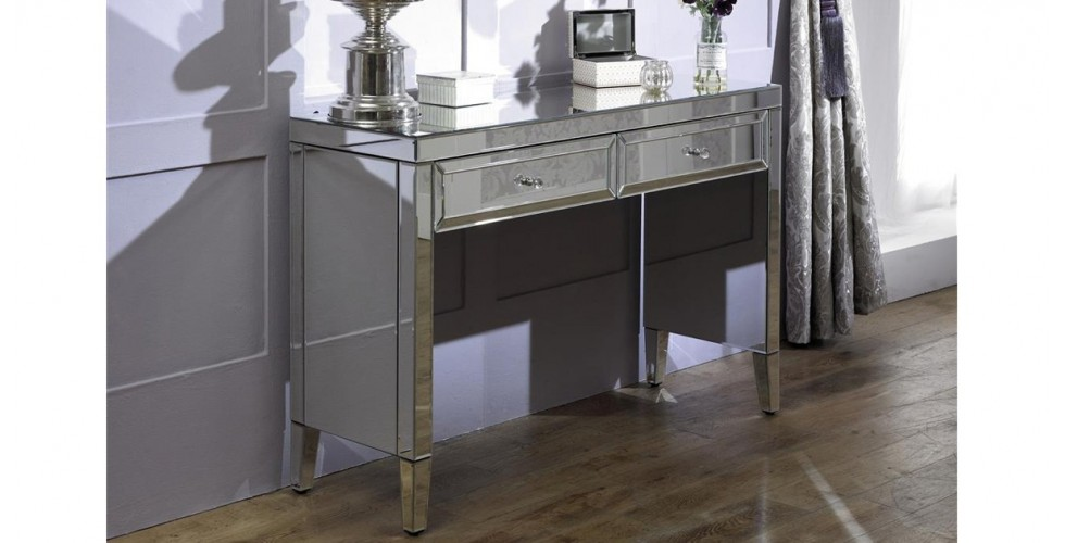 Italia 2 Drawer Sideboard and Stool Package Deal