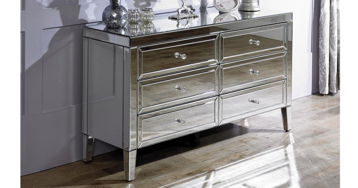 Italia 6 Drawer Chest