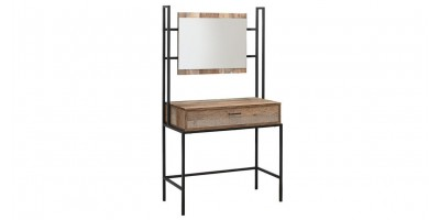 Sloane Rustic Dressing Table & Mirror