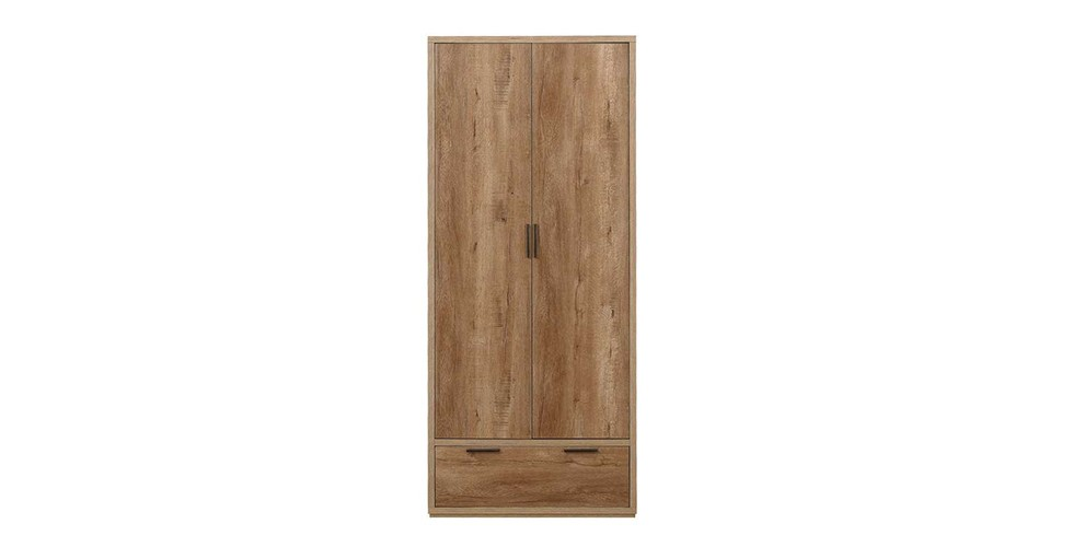 Stockwell 2 Door + 1 Drawer Wardrobe