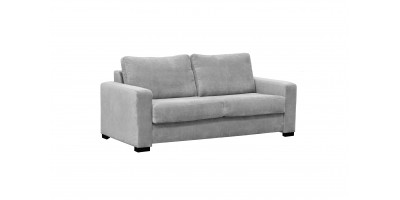 Roseland 3 Seater Sofa Bed Silver