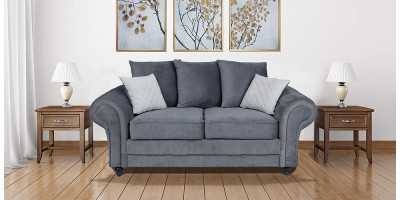 Amalfi 2 Seater Sofa Graphite