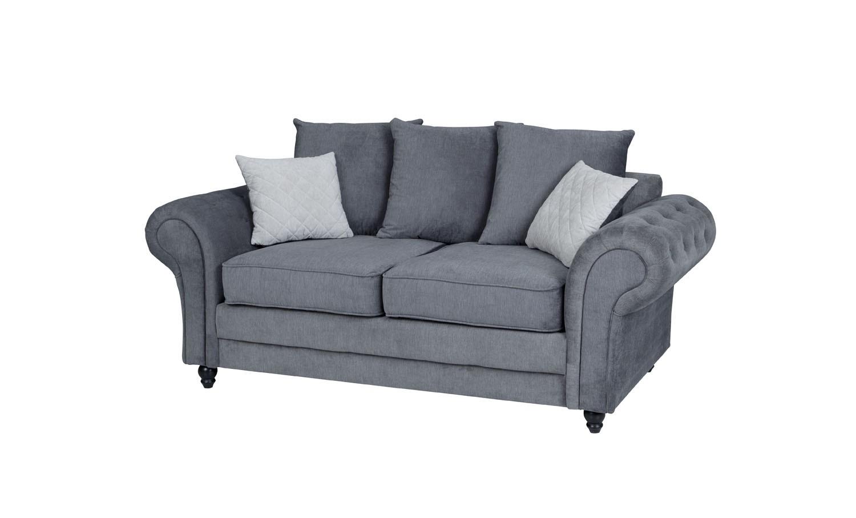 Amalfi 2 Seater Sofa Graphite