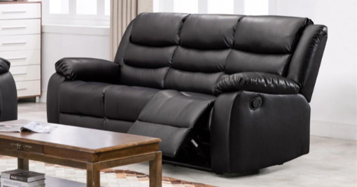Lazy-B Corner Recliner Black