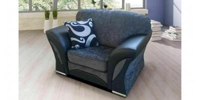 Farrow Armchair Black-Grey