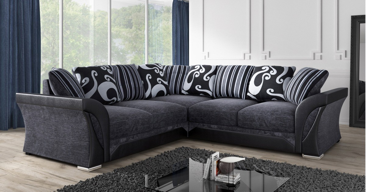 Farrow Large Corner Group Black-Grey