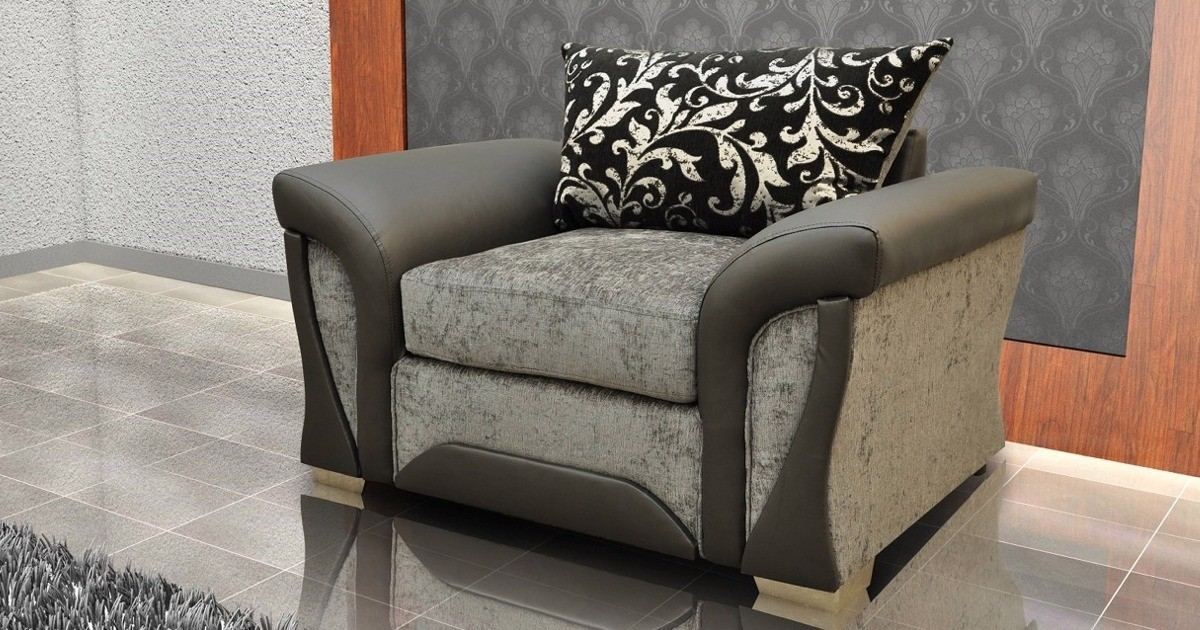 Farrow Armchair Brown-Beige