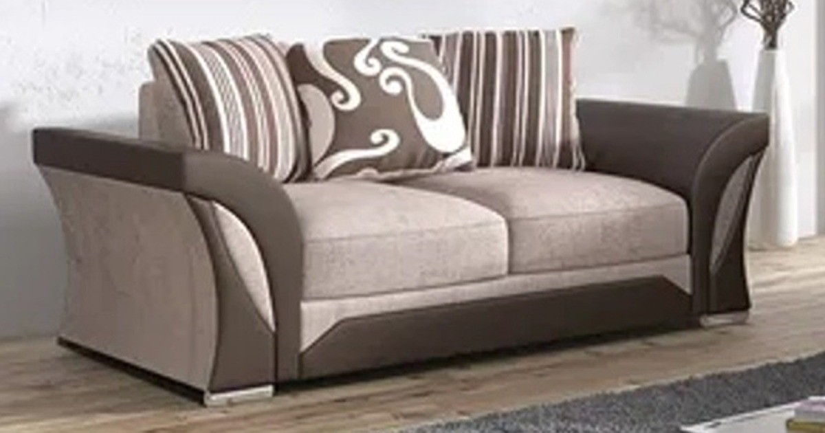 Farrow 2 Seater Brown-Beige