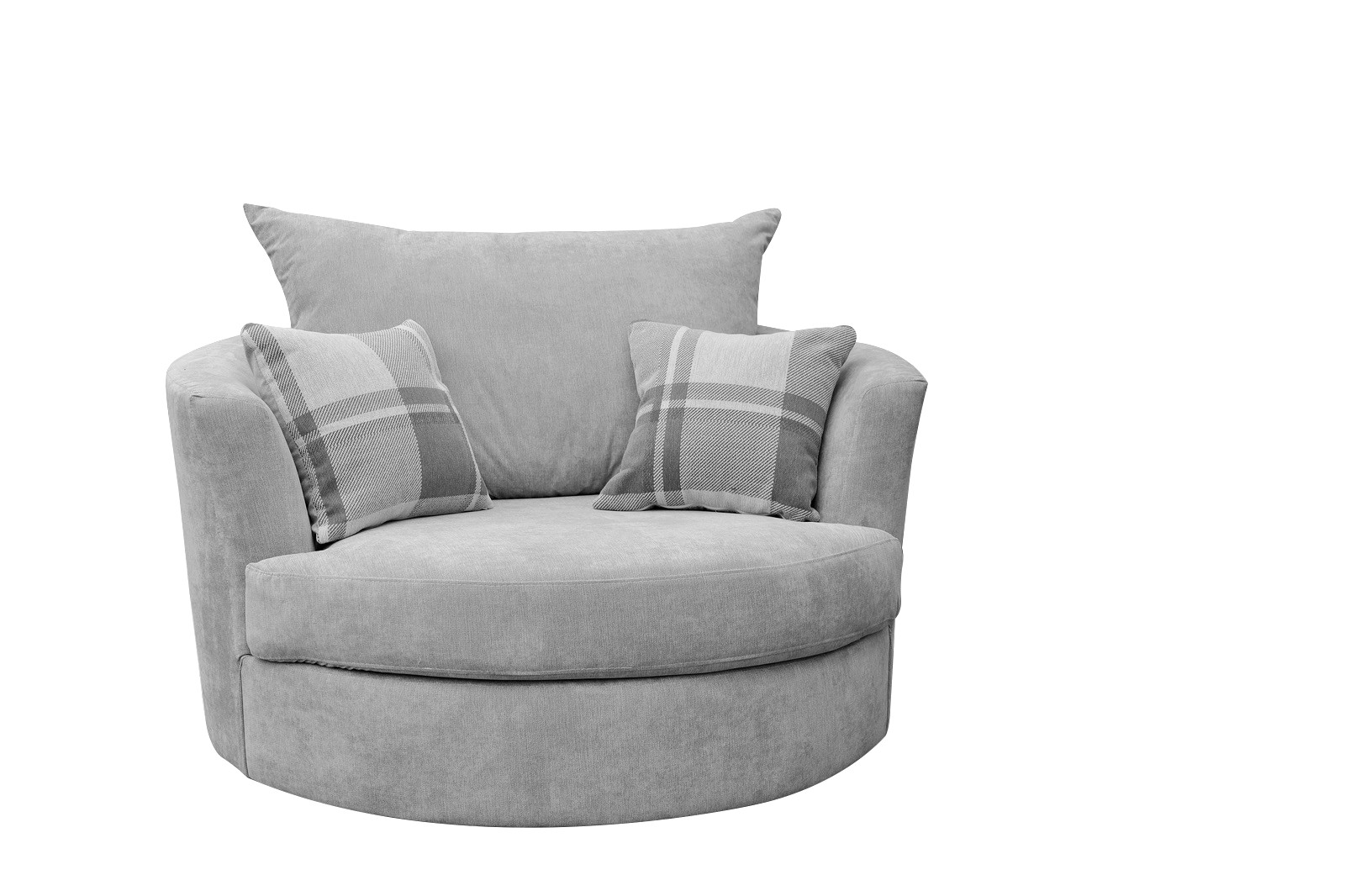 Cuddle Chair Silver