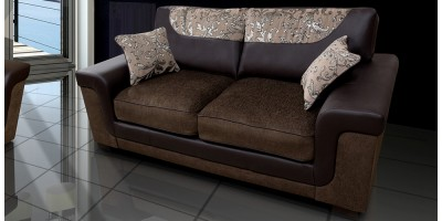 Symphony 3 Seater Brown
