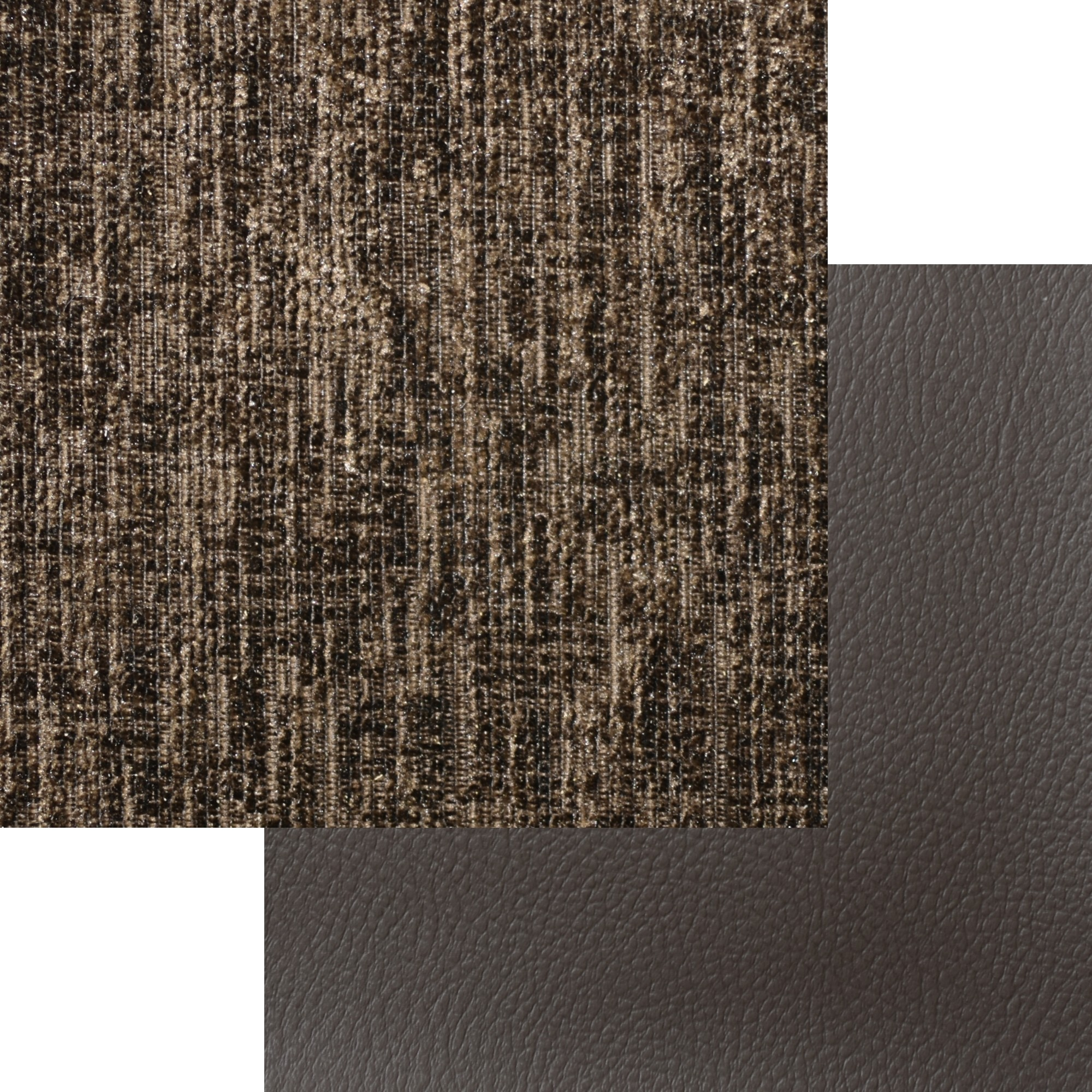Arizona Fabric 3+2 Seater Sofa Brown and Brown