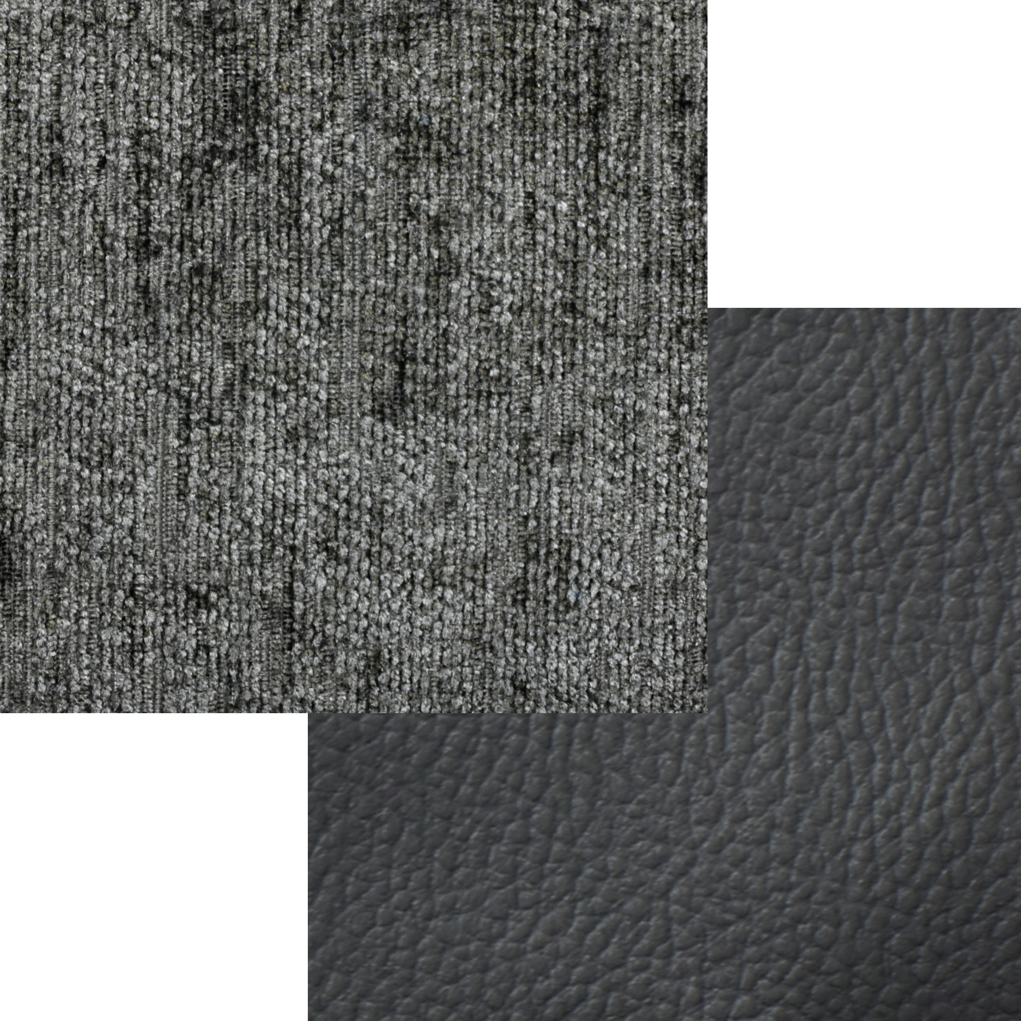 Arizona Fabric 2CR3 Left Corner Black and Grey