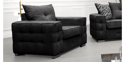 Laxia 1 Seater Armchair Dark Grey